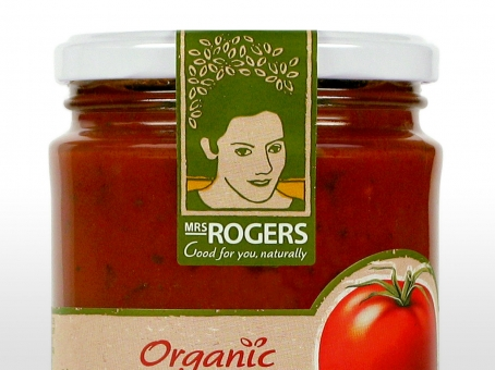 Mrs Rogers brand label
